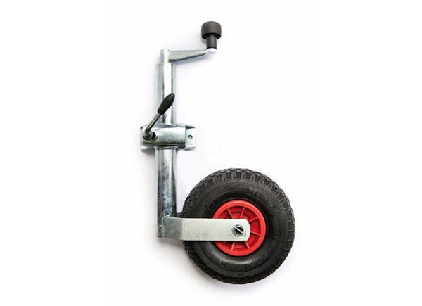 trailer parts ireland pneumatic jockey wheel