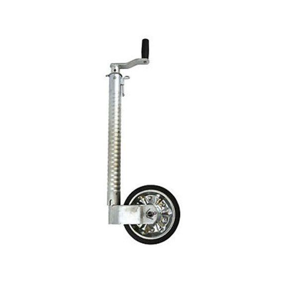 ribbed jockey wheel - heavy duty